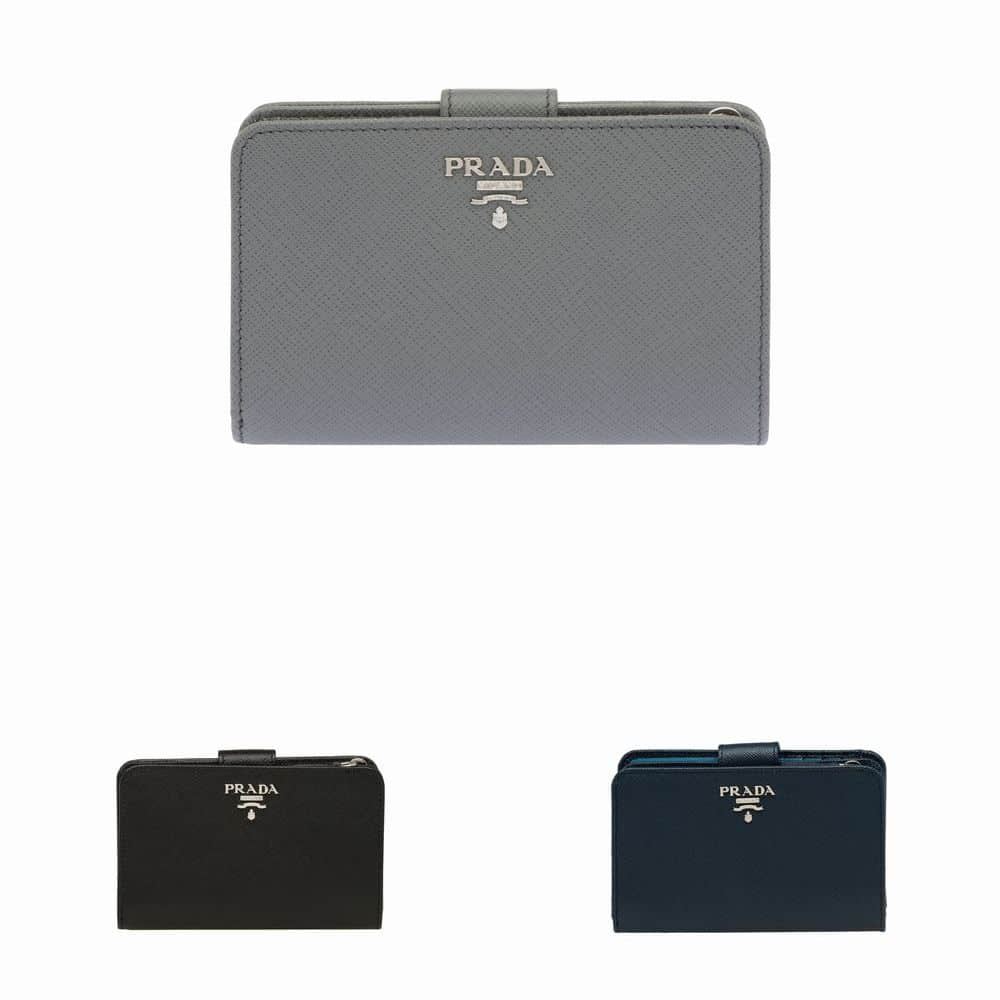800ee269a00ce PRADA Fall   Winter New Leather Wallet