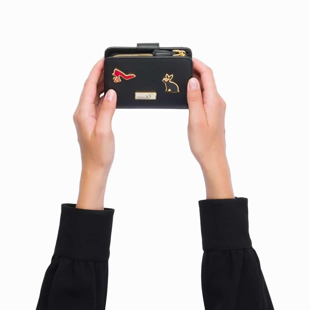 サフィアーノレザー財布