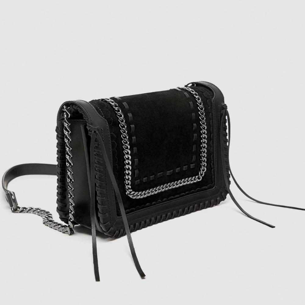 5550852da5 ZARA2019Year new leather crossbody bag | BORDER-GARA