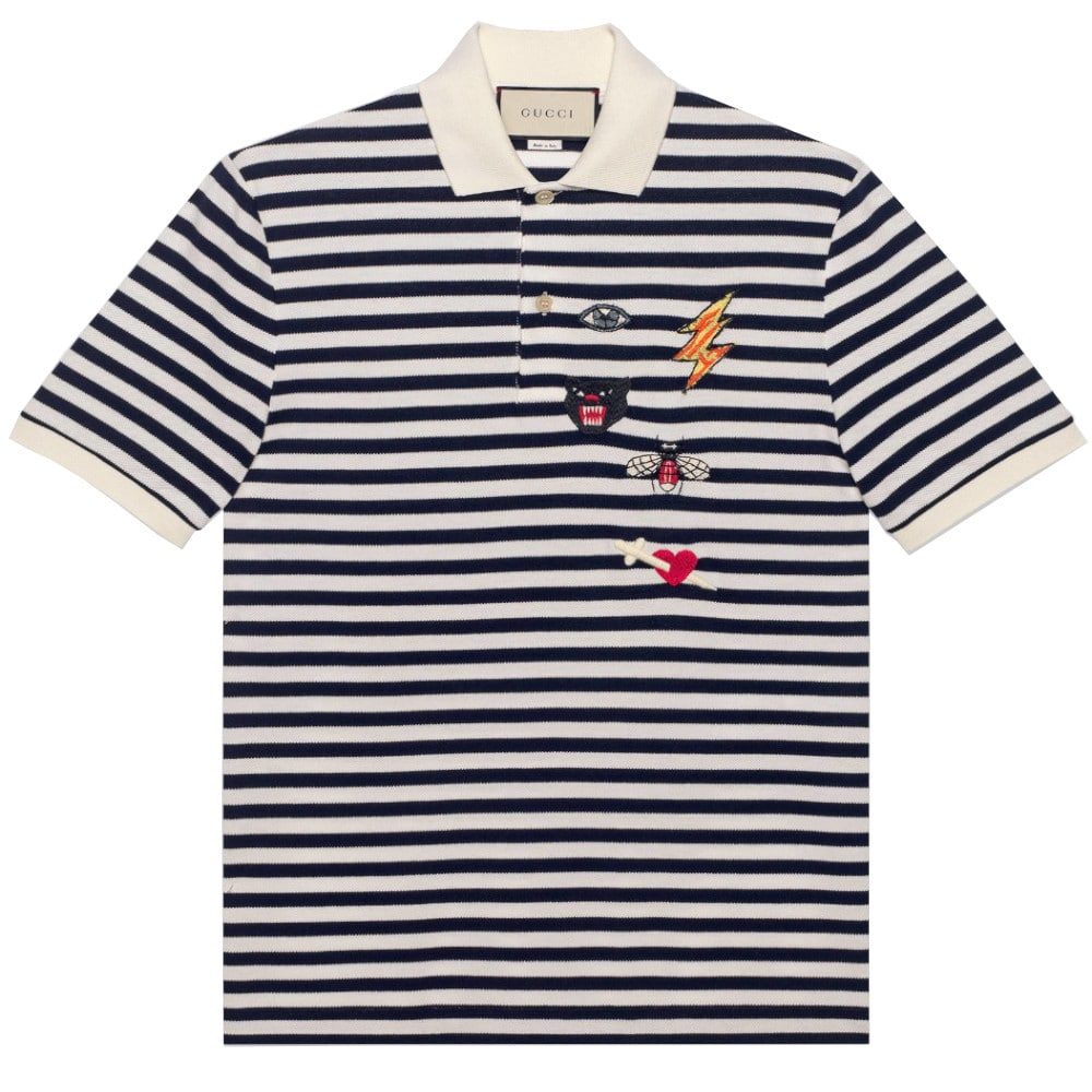 960862282 GUCCI2019Year s work three little pig polo shirts