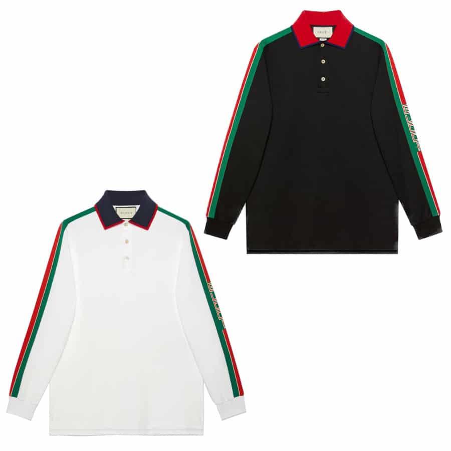 d1307563 GUCCI2019New Year Cotton Polo Shirt | BORDER-GARA