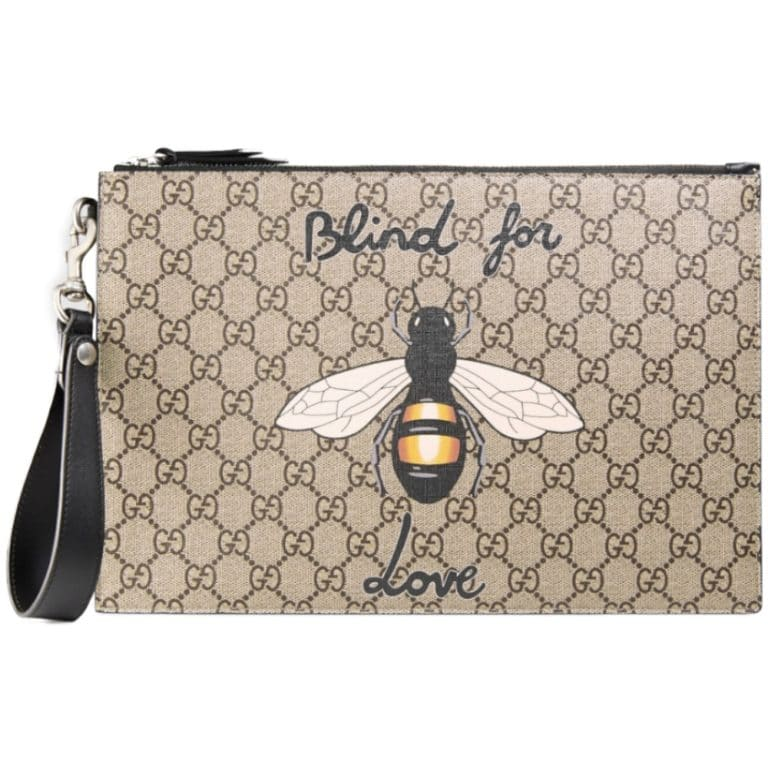 5b5c709982b3f2 GUCCI2019New Year Bee (Bee) Clutch Bag   BORDER-GARA