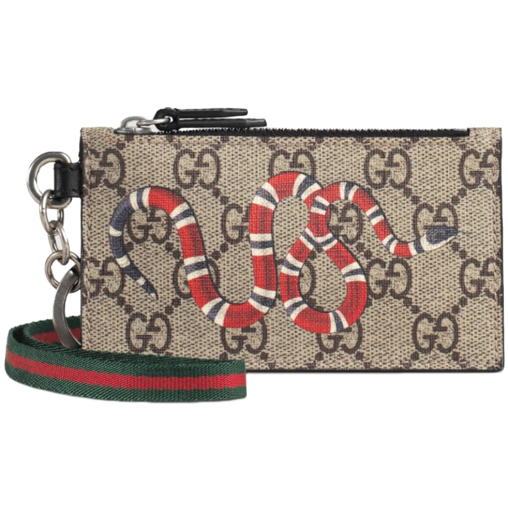aa8855186fd1 GUCCI2019New Year GG Supreme Card Case | BORDER-GARA