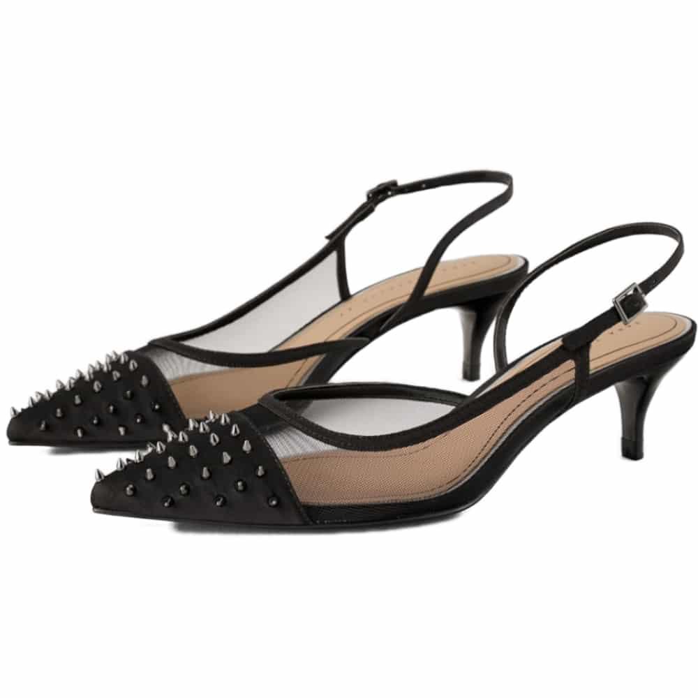 897b559b1cf ZARA2019New Year High Heel Slingback